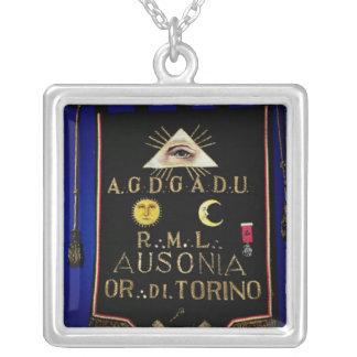 Collier Régalia maçonnique, de l'ordre de Turin