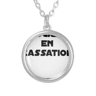Collier ROCKET EN CASSATION - Jeux de mots -Francois Ville