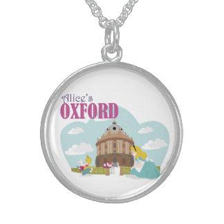 Collier rond d'argent sterling d'Oxford d'Alice