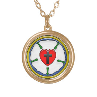 Collier rond de rose de Luther petit