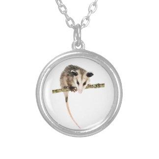 Collier rond d'opossum