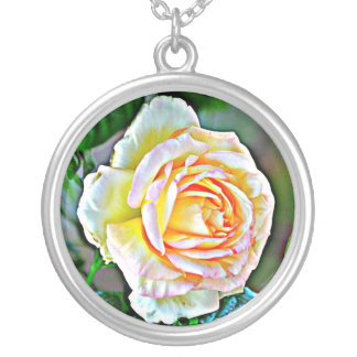 Collier rose de beauté