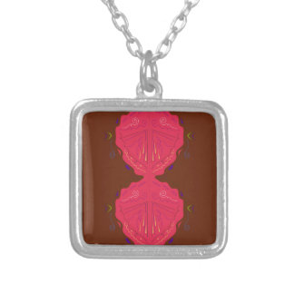 Collier Rouge-brun arabe d'ornements de luxe