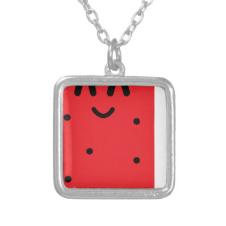 Collier rouge-glace-bruit