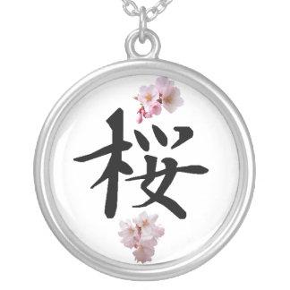 Collier Sakura - fleurs de cerisier