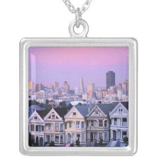 Collier San Francisco, la Californie. Vue de victorien