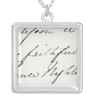 Collier Signature de Florence Nightingale