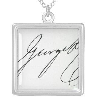 Collier Signature de George IV