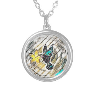 Collier Silhouette de colibri