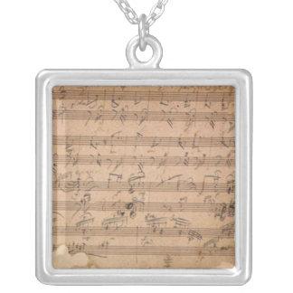 Collier Sonate de Beethoven Hammerklavier