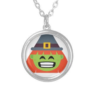 Collier sorcière tout l'Emoji Halloween