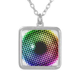 Collier Spectre de couleur d'oeil de licorne d'iris