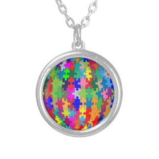 Collier Sphère de puzzle