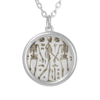 Collier Squelettes de l'encyclopédie de Brockhaus et