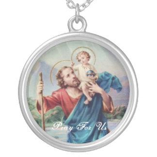 Collier St Christopher