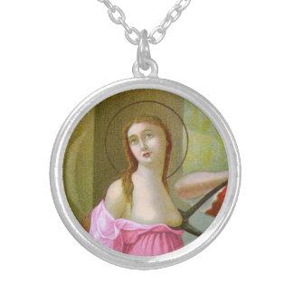 Collier St rose Agatha (M 003)