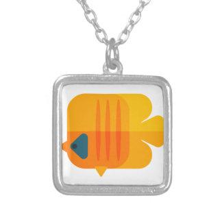 Collier Style jaune de primitif de poissons d'ange