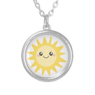 Collier Sun heureux mignon