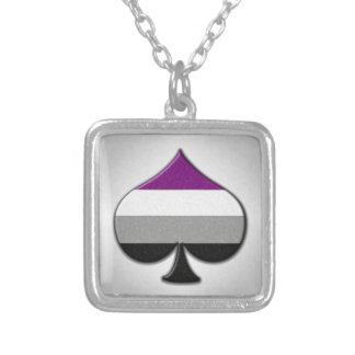 Collier Symbole asexuel d'as de fierté