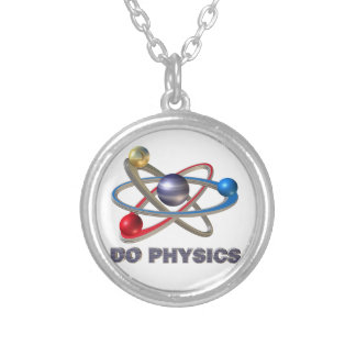 Collier Symbole d'atome