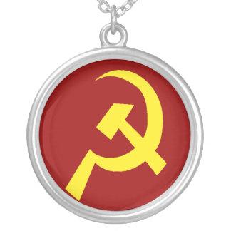 Collier Symbole de faucille de marteau de l'URSS