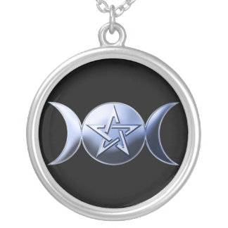 Collier Symbole lunaire de déesse
