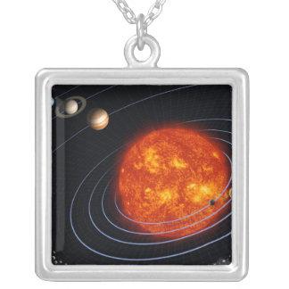 Collier Système solaire 8