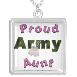 Collier Tante fière Necklace d'armée