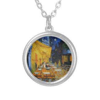 Collier Terrasse de Café le nuit de Vincent Van Gogh