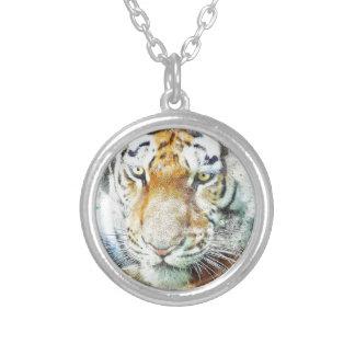 Collier tigre de conception d'art