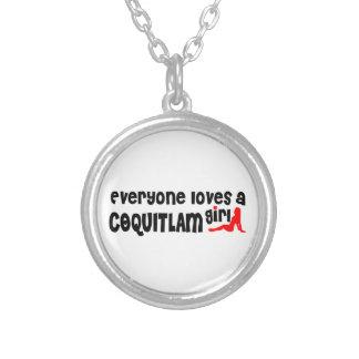 Collier Tout le monde aime une fille de Coquitlam