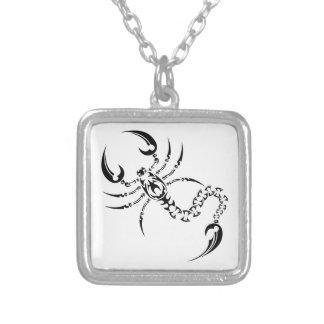 Collier Tribal scorpion