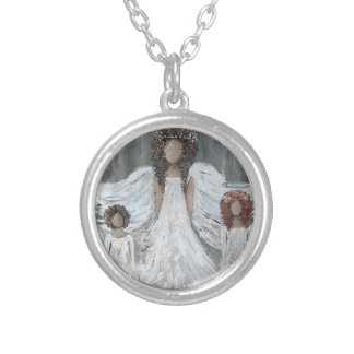 Collier Trois anges