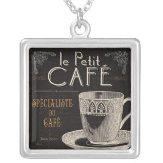 Collier Une tasse de café contemporaine