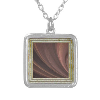 Collier Vagues de Brown et de rose