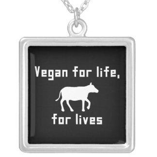 Collier Végétalien pendant la vie
