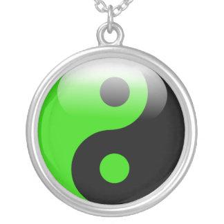 Collier vert de Yin Yang