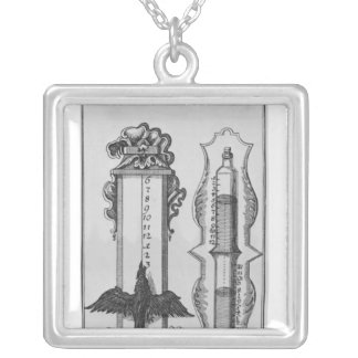 Collier Vieux clepsydras, illustration