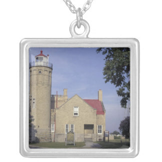 Collier Vieux Mackinac phare de point des Etats-Unis,