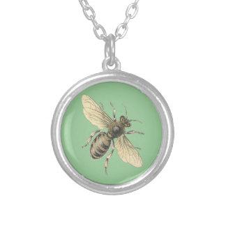 Collier vintage d'abeille