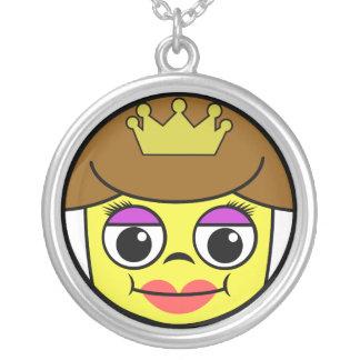 Collier Visage de la Reine