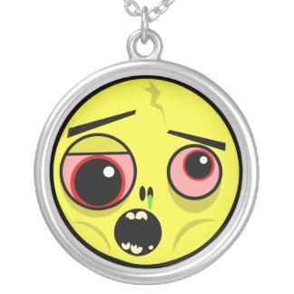 Collier Visage de zombi