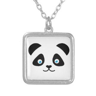 Collier visage d'ours panda