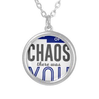 Collier Vous dans le chaos