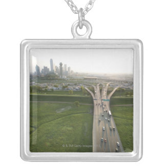 Collier Vue aérienne de route à Dallas, le Texas