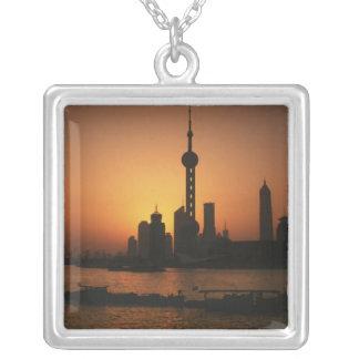 Collier Vue de l'ASIE, Chine, Changhaï de la perle