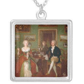 Collier Vue d'un salon, 1780