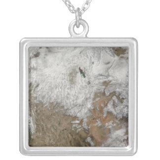 Collier Vue satellite des Etats-Unis occidentaux