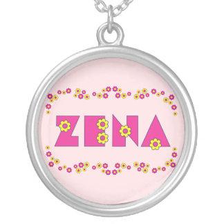 Collier Zena dans le rose de Flores