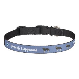 Colliers Pour Animaux Domestiques Finlandais Lapphund dog collar blue